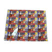 Picture of African Print Blue-Orange Geometric-12yd
