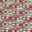Picture of African Red-Yellow Geometrics 6 yard