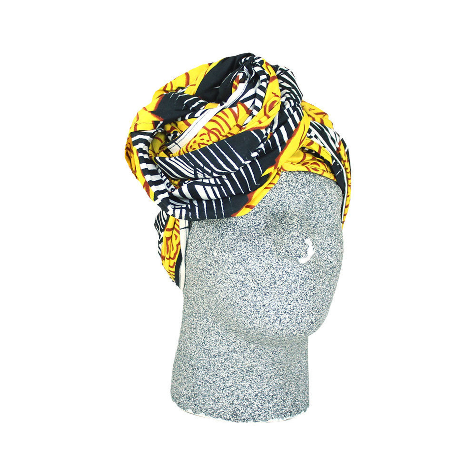 Picture of Yellow Rose Head Wrap