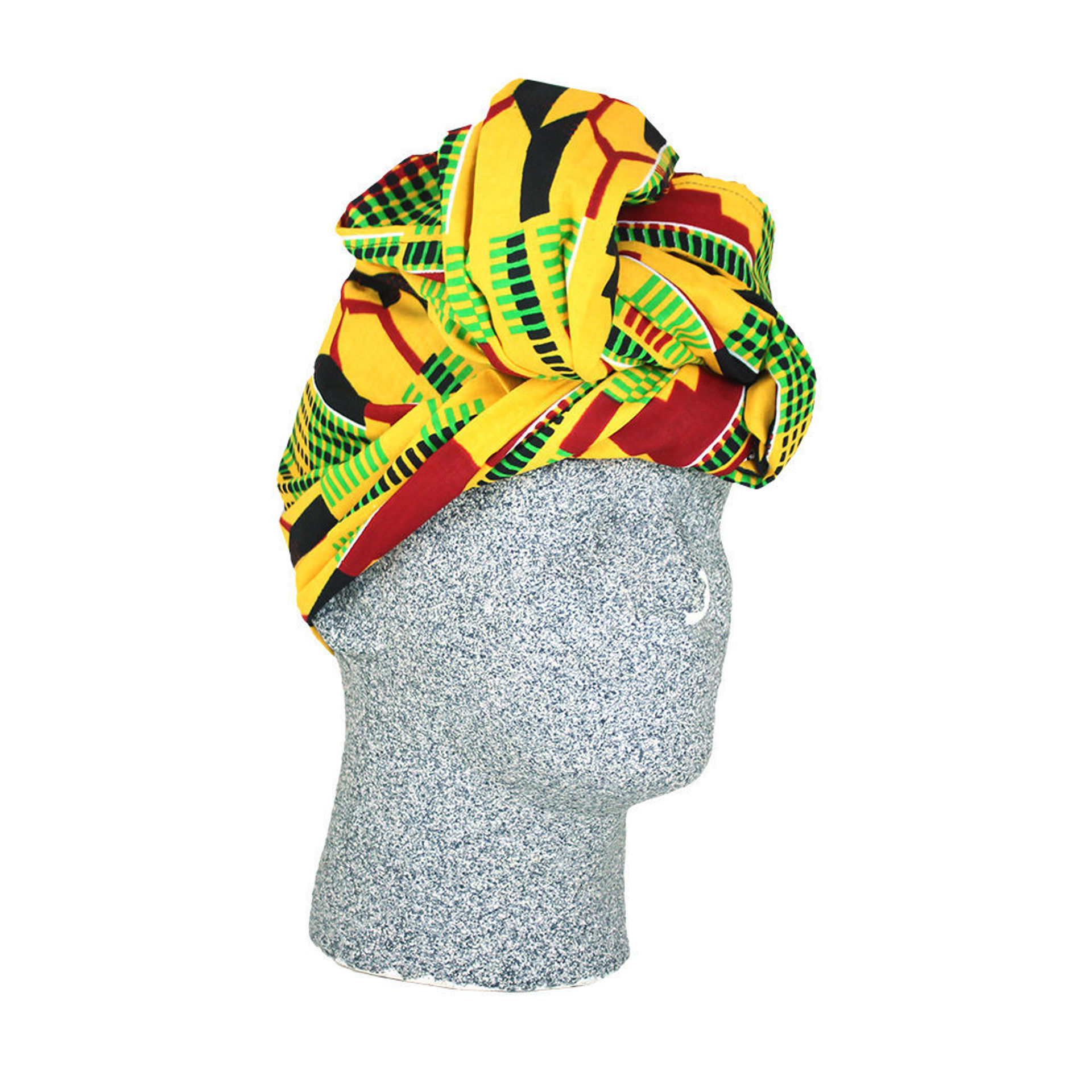 Picture of Large Kente Print Headwrap