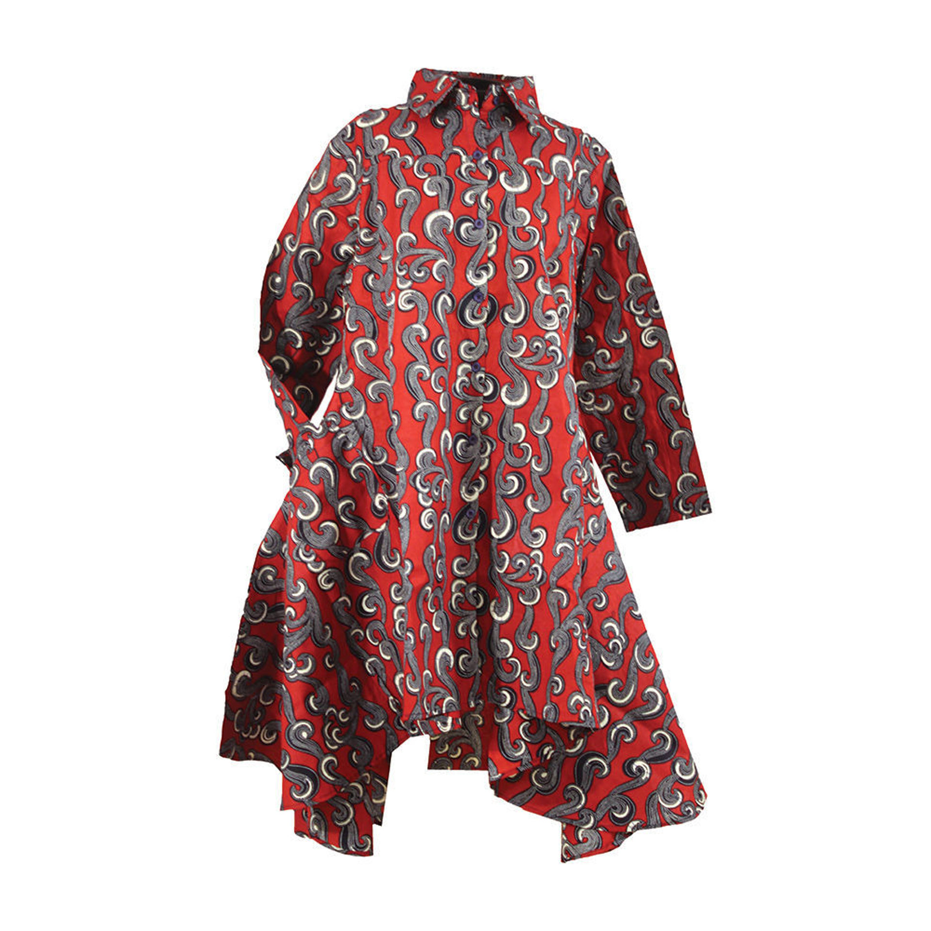 Picture of African Print Hi-Lo Shirt: African Print