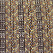 Picture of Wht/Blk/Brn/Bei Mud Print Fabric 12yd