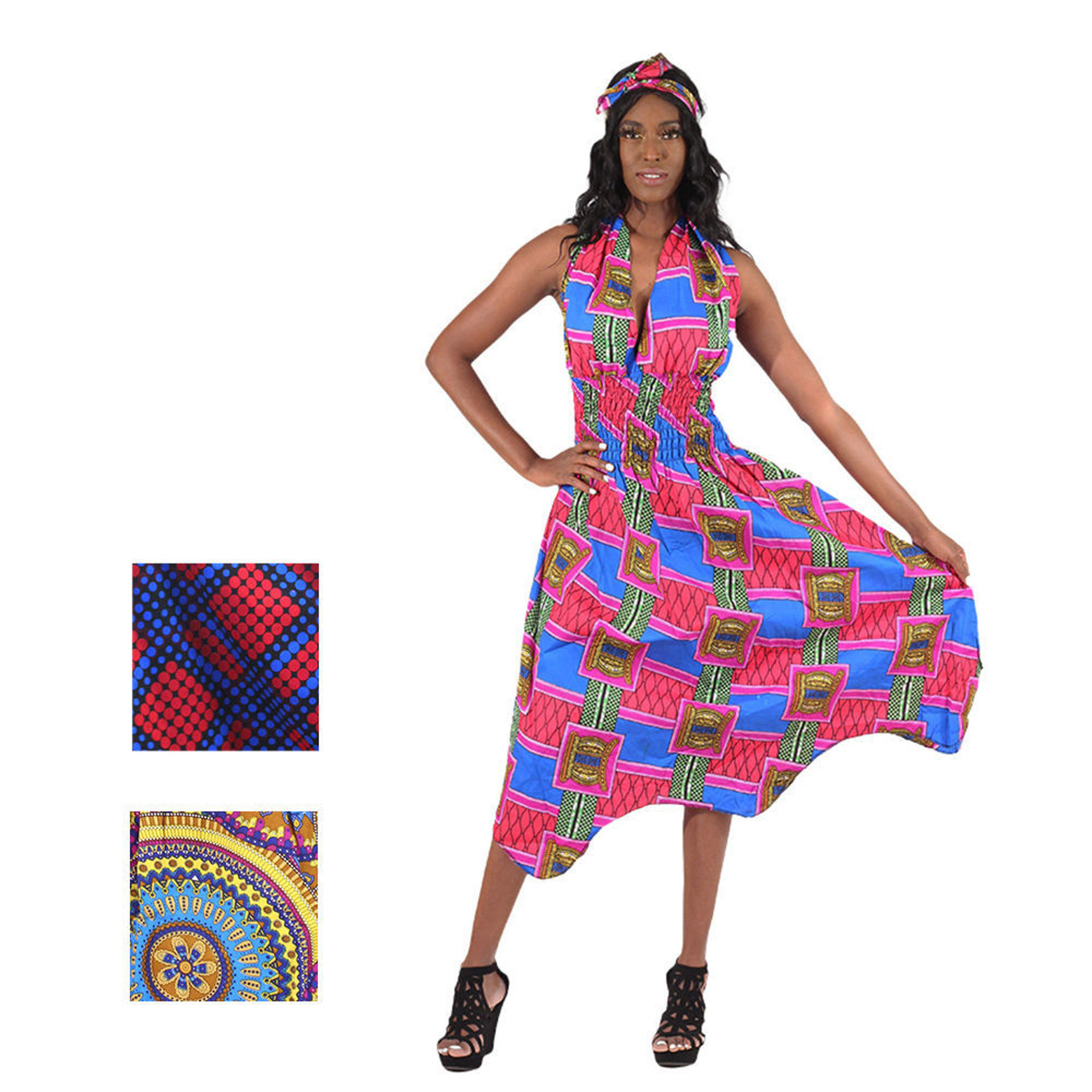 Picture of Halter Neck Dress ASSORTED Set of 3