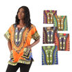 Picture of Set Of 6 Sized Dashikis ASSORTED