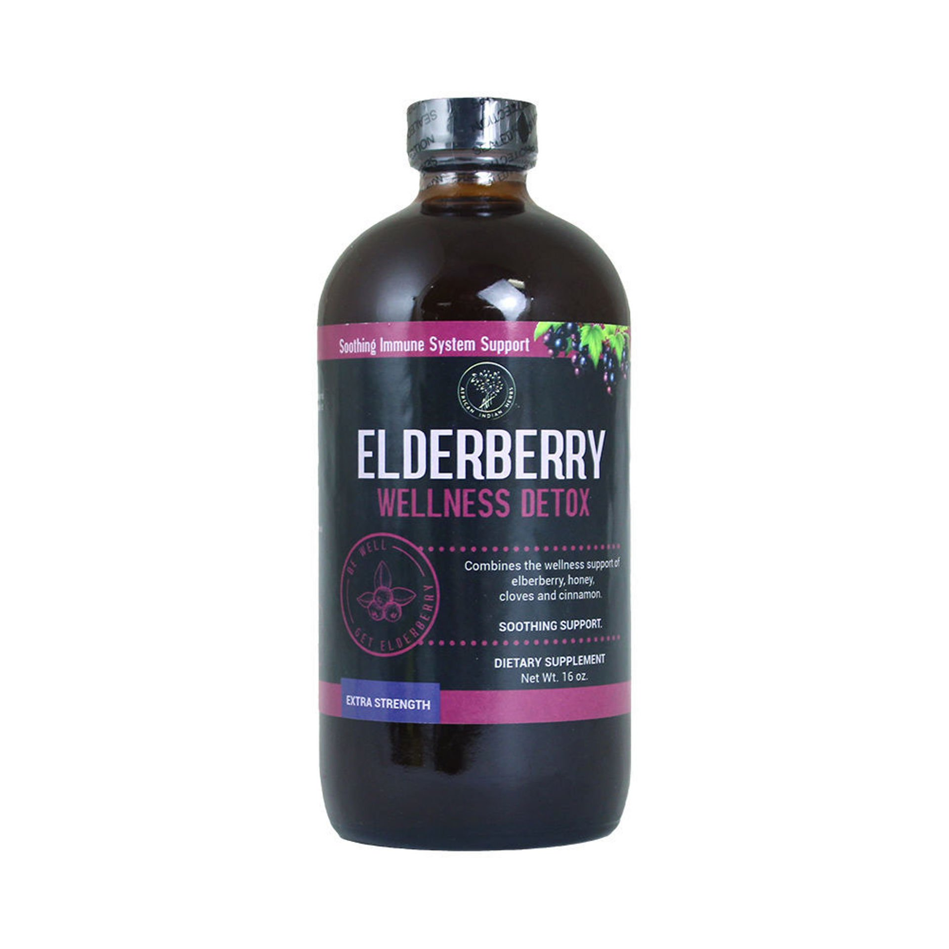 Picture of Elderberry Wellness Detox -  16 oz.