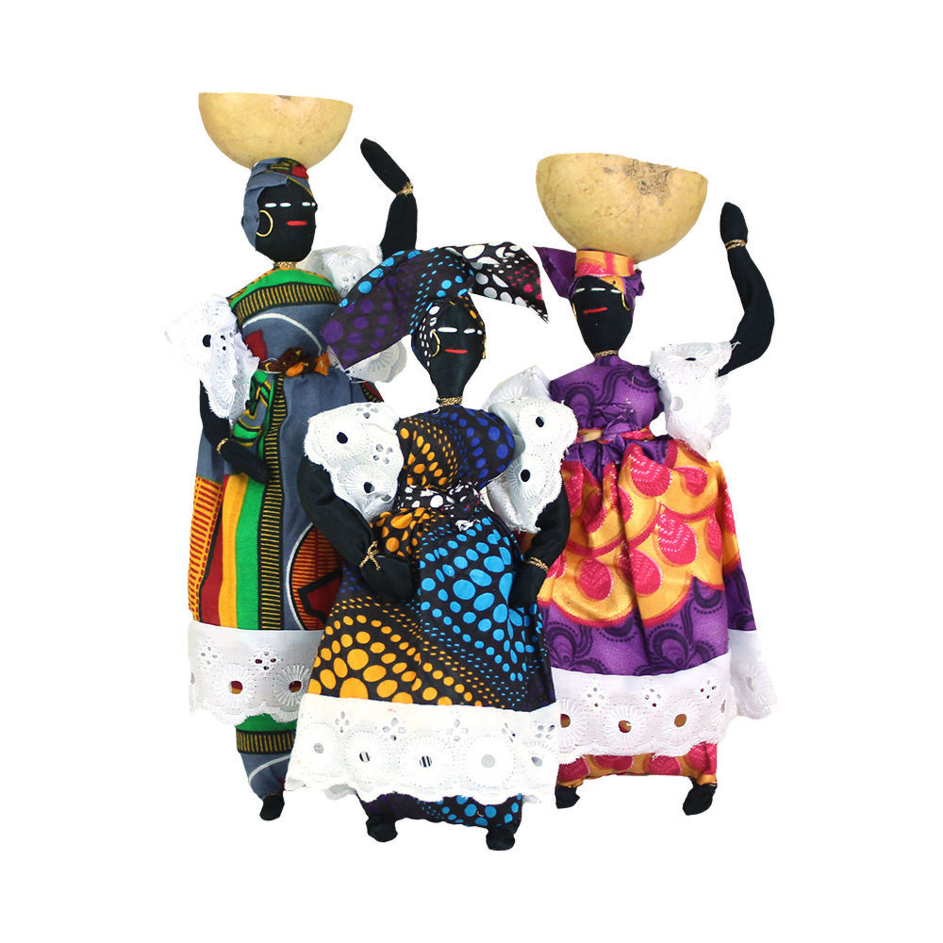 Picture of African Cloth Doll
