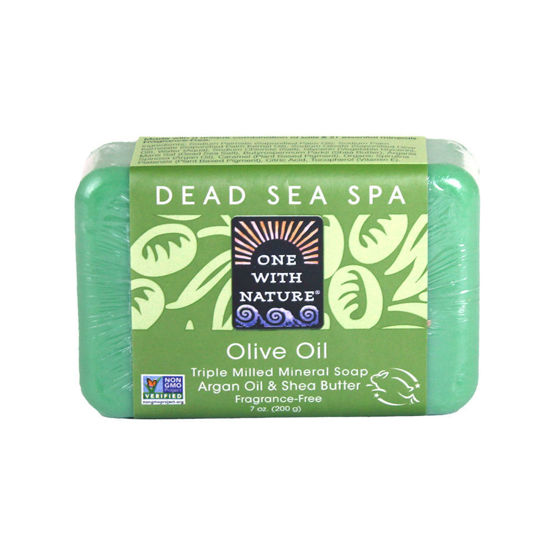 Picture of Olive Oil Shea/Argan Soap - 7 oz.