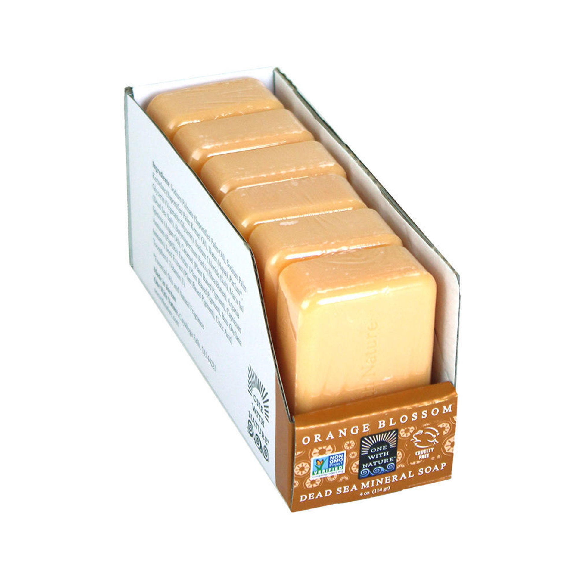 Picture of Set Of 6 Orange Blossom Soaps