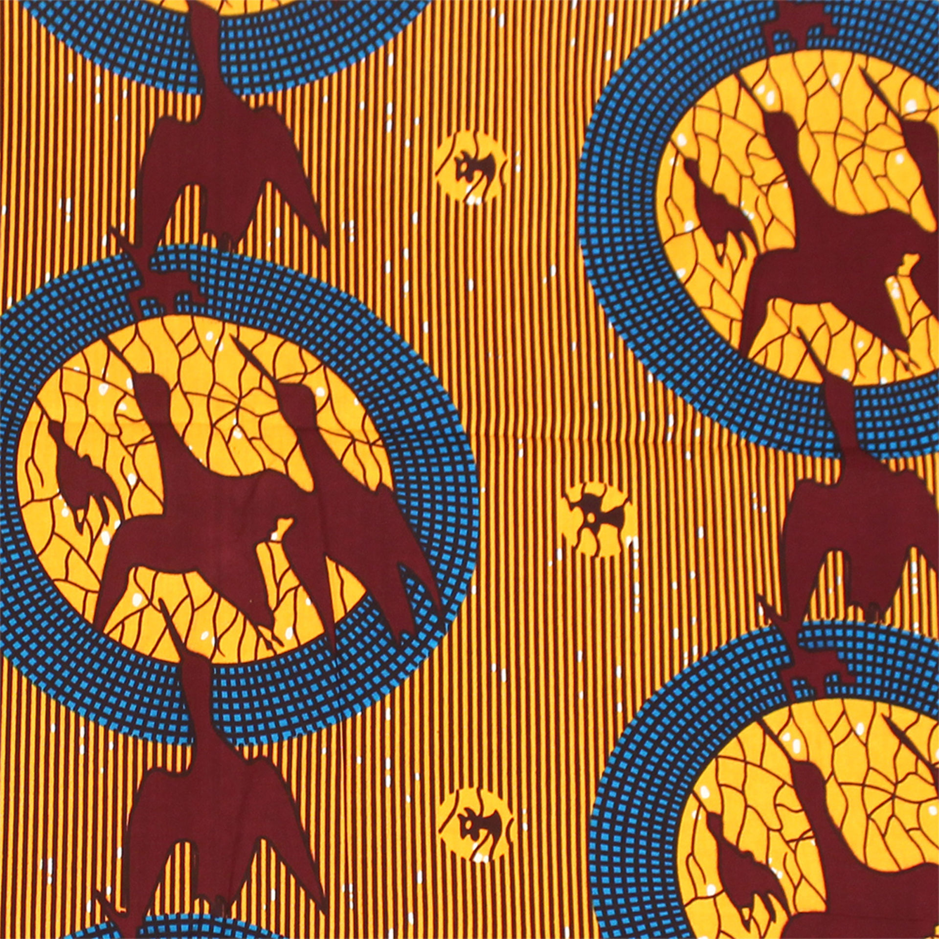 Picture of African Botanical Print Fabric