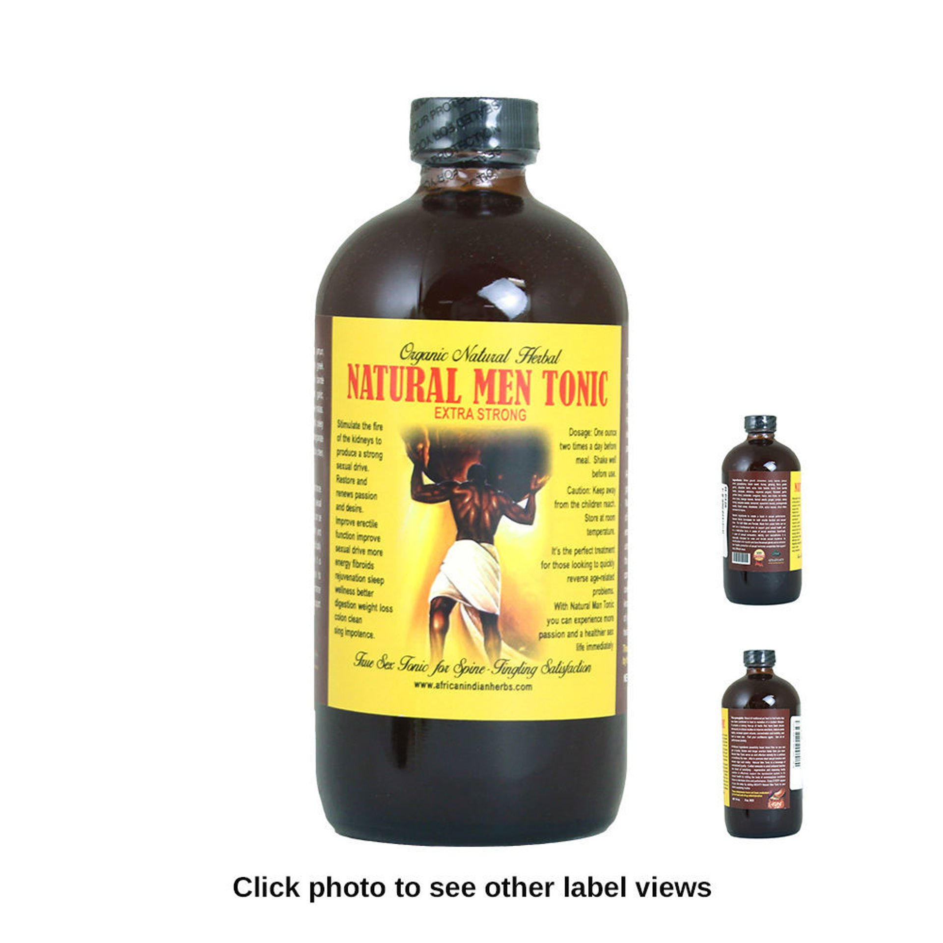 Picture of Organic Natural Men Tonic - 16 oz.