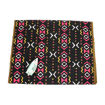 Picture of Black/Pink/Yellow Mud Print Fabric