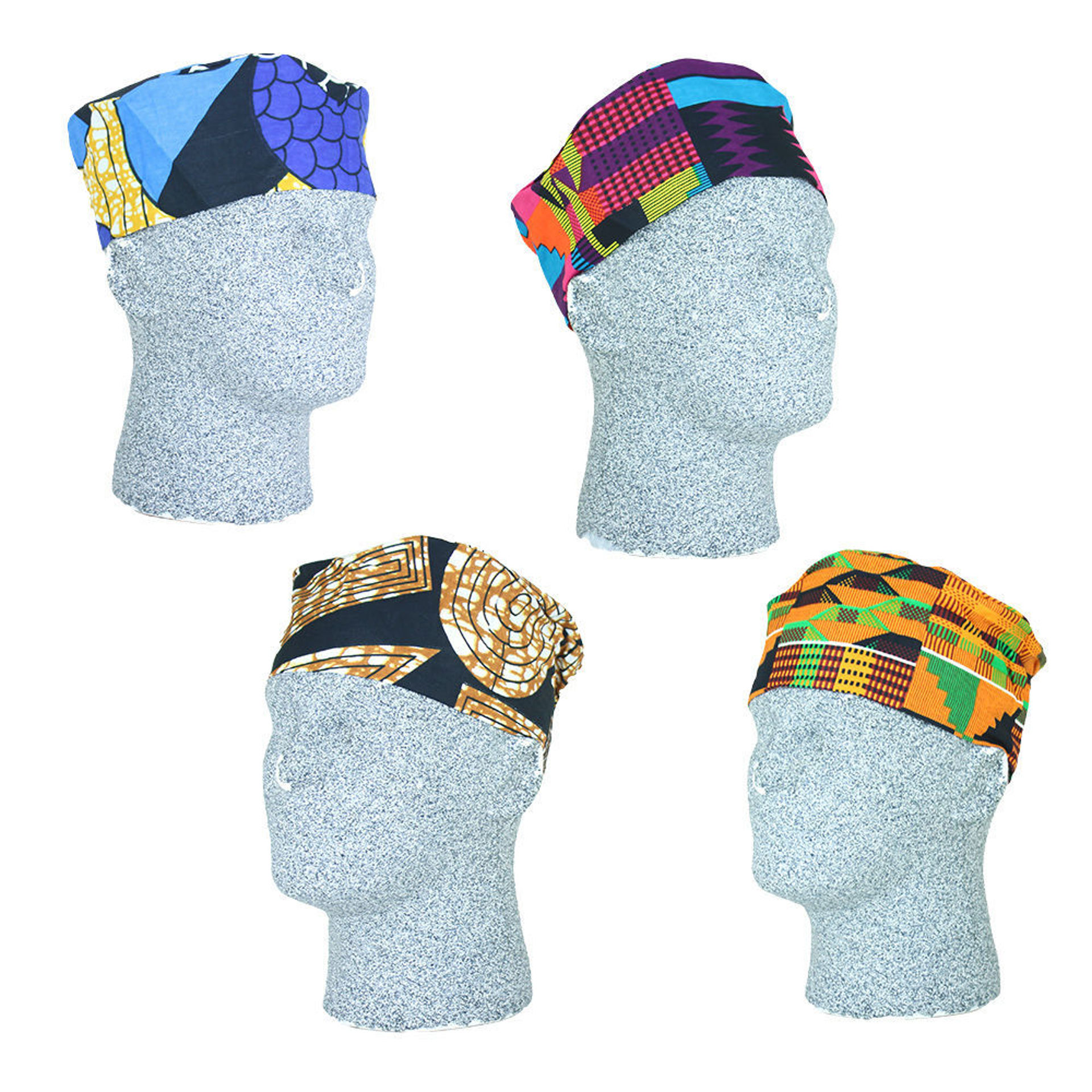 Picture of Set Of 12 Assorted Kufi Hats