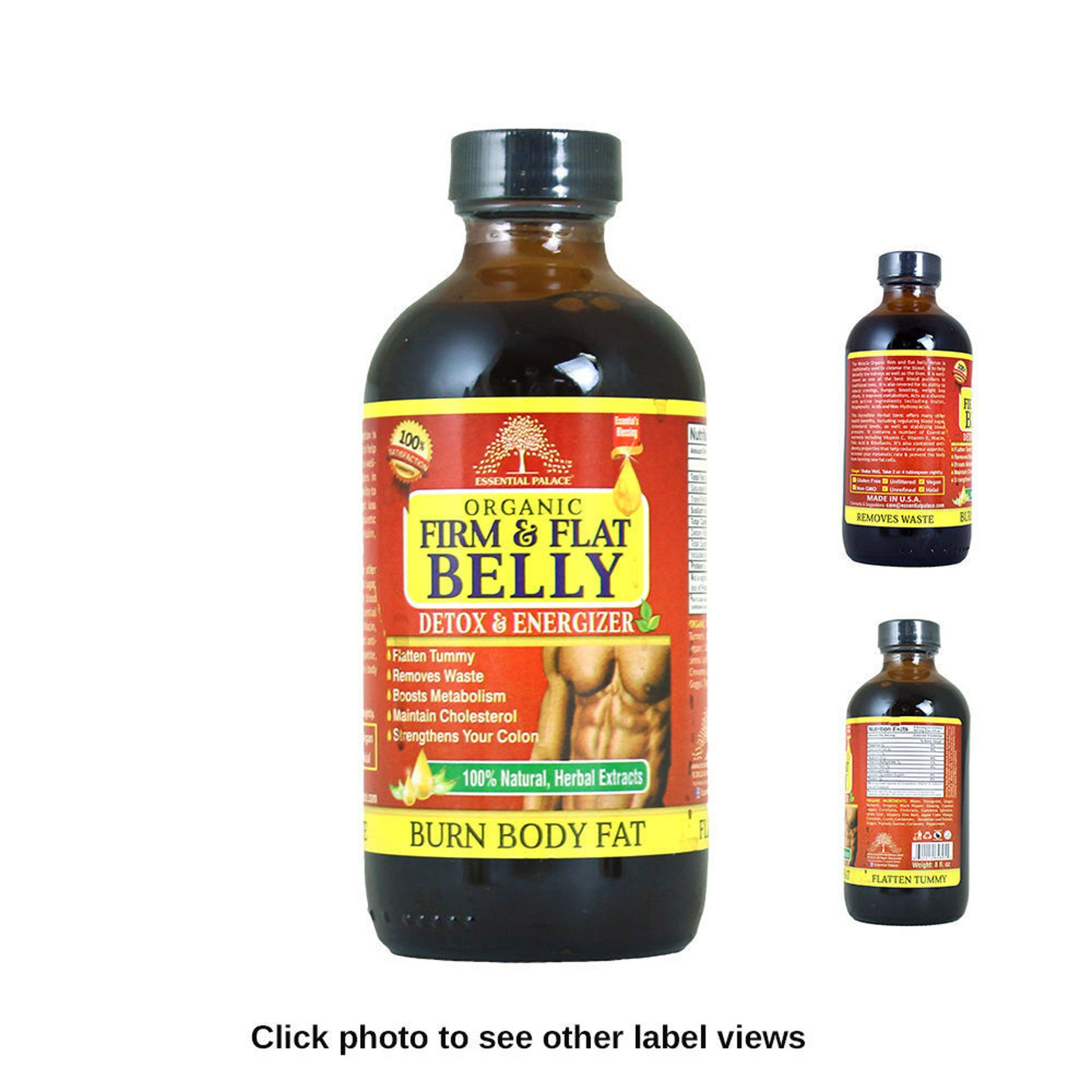 Picture of Organic Firm & Flat Belly Detox - 8 oz