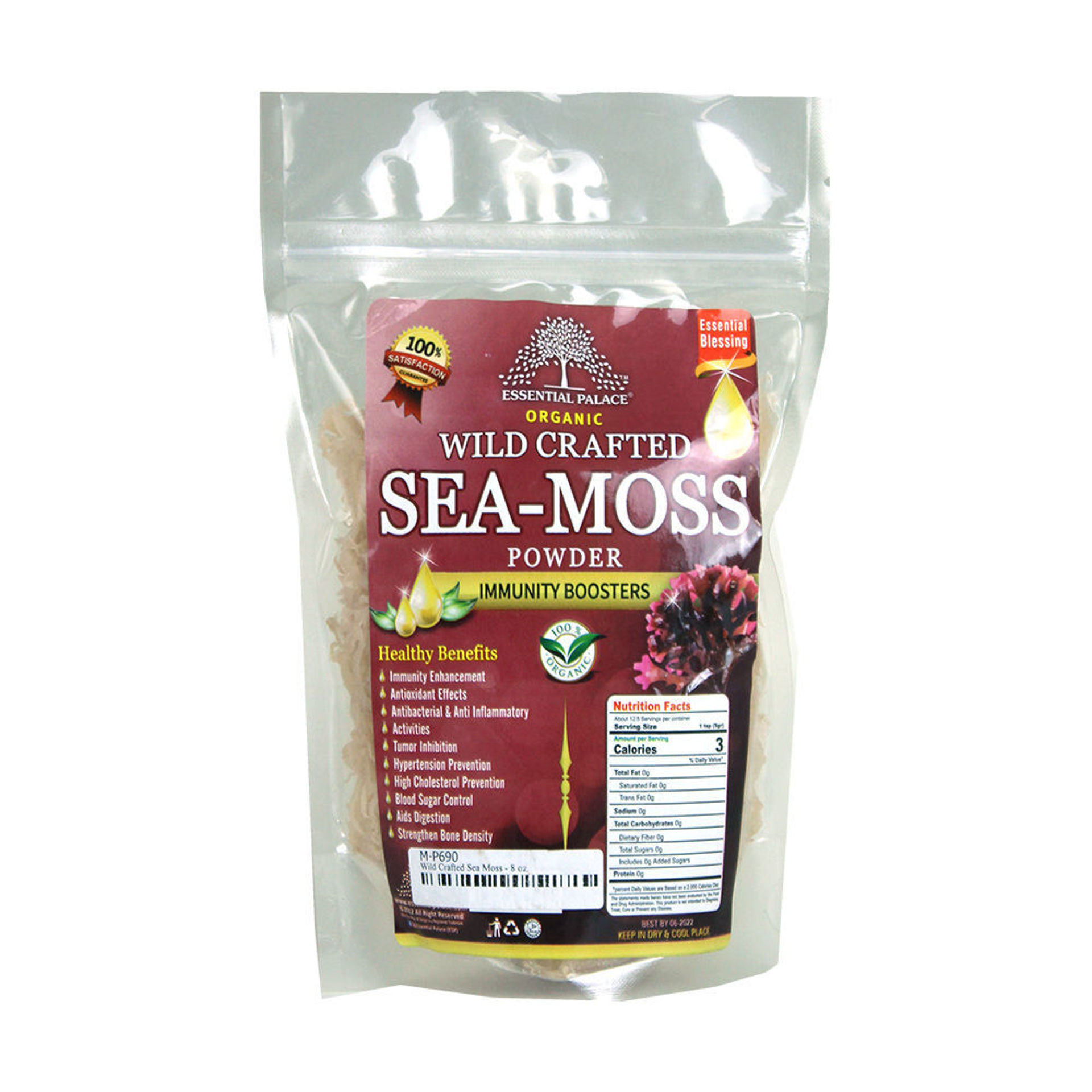 Picture of Wild Crafted Sea Moss - 8 oz.