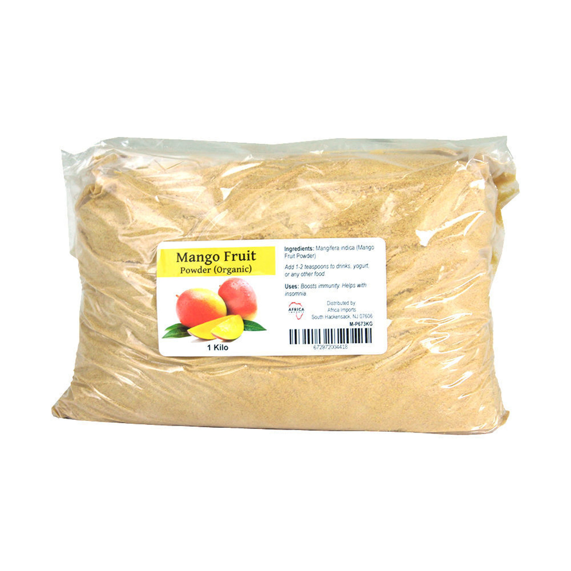 Picture of Organic Mango Fruit Powder – 1 Kilo