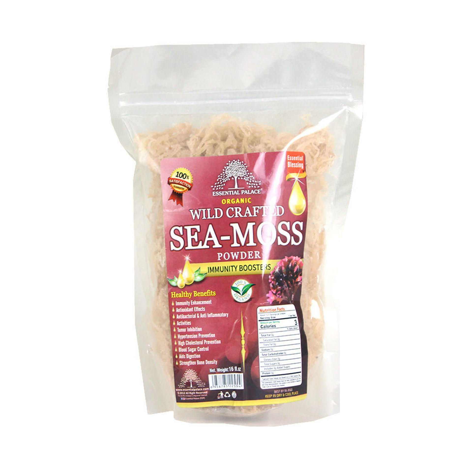 Picture of Wild Crafted Sea Moss - 16 oz.