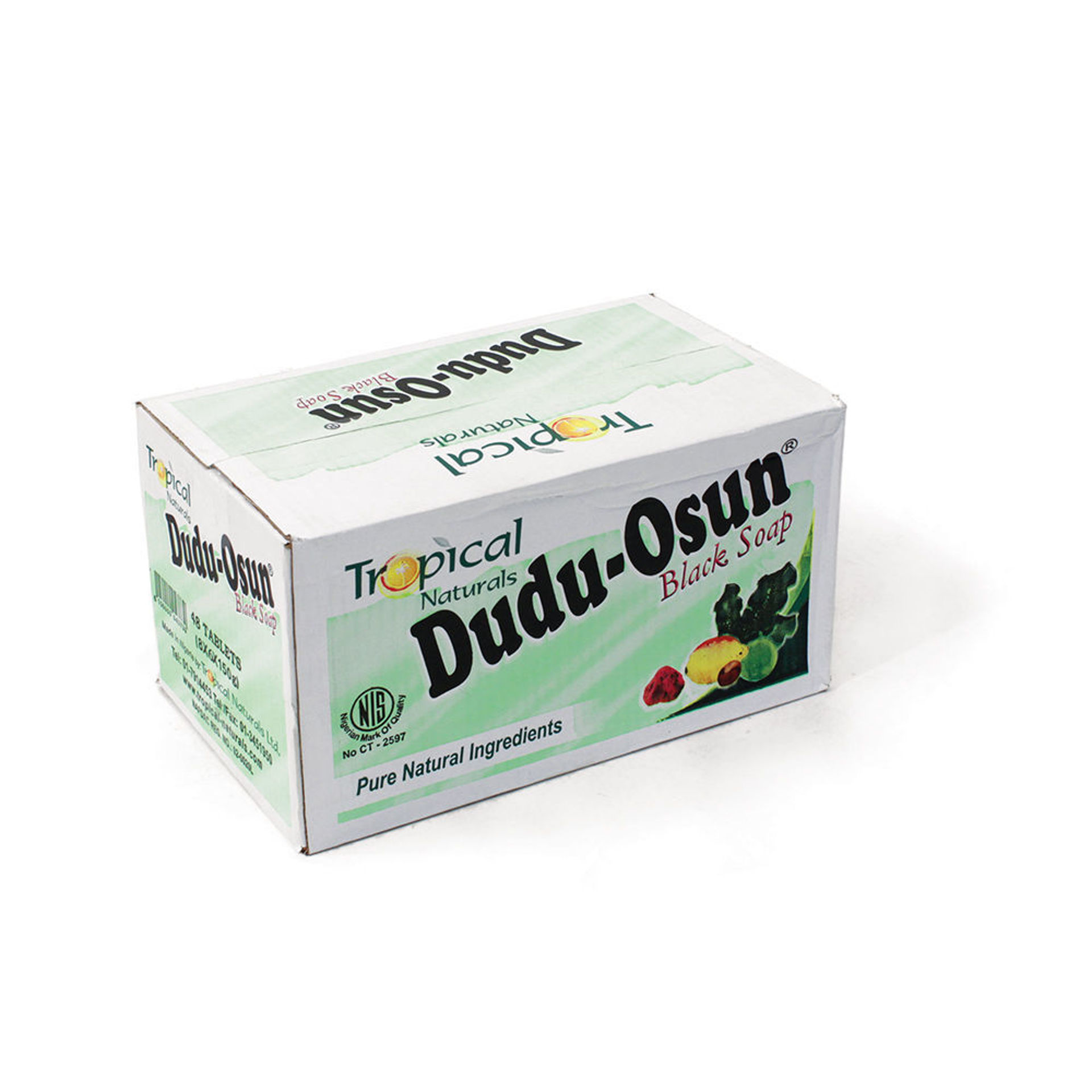 Picture of CLASSIC Dudu-Osun Black Soap - Case 48