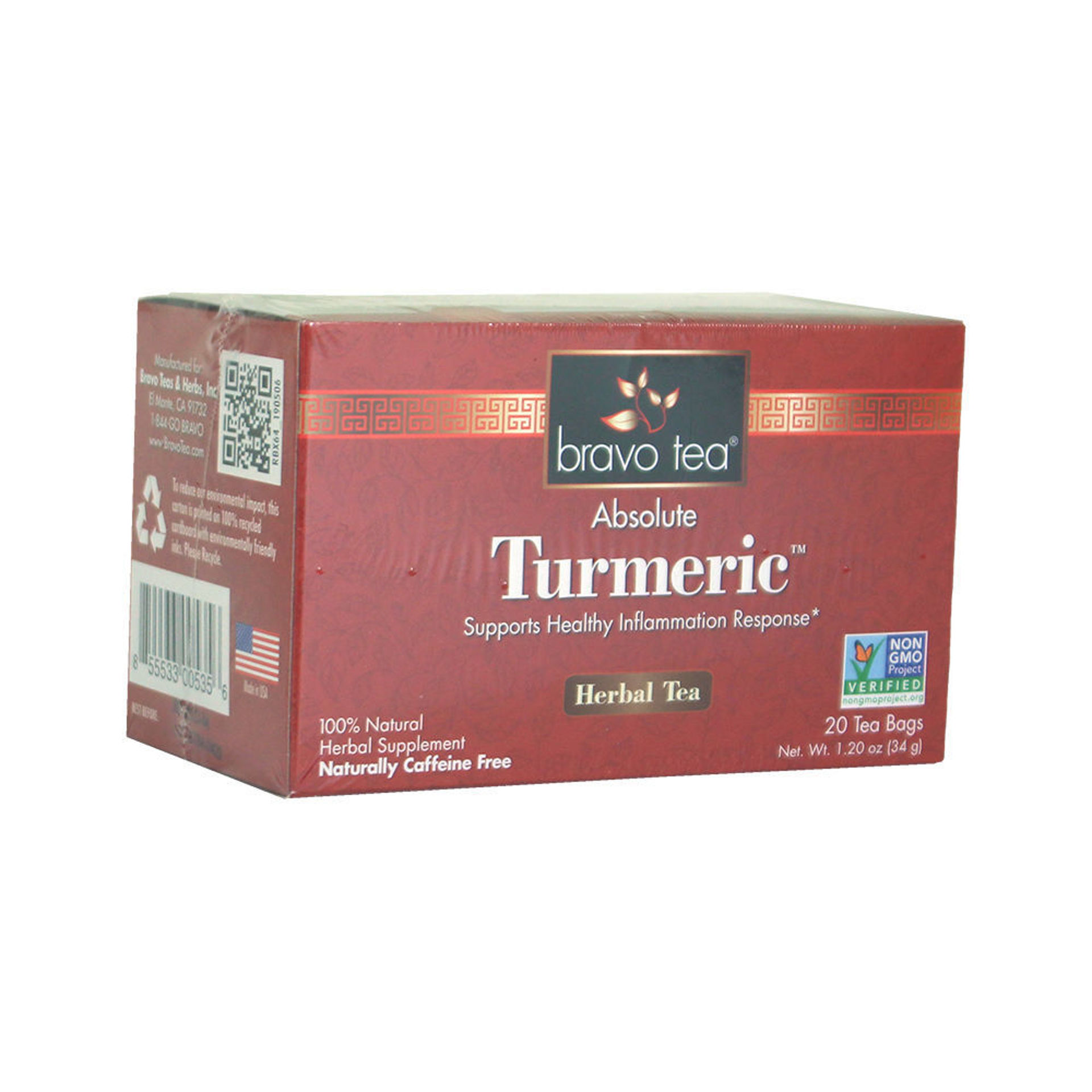 Picture of Absolute Turmeric Tea - 20 Bags