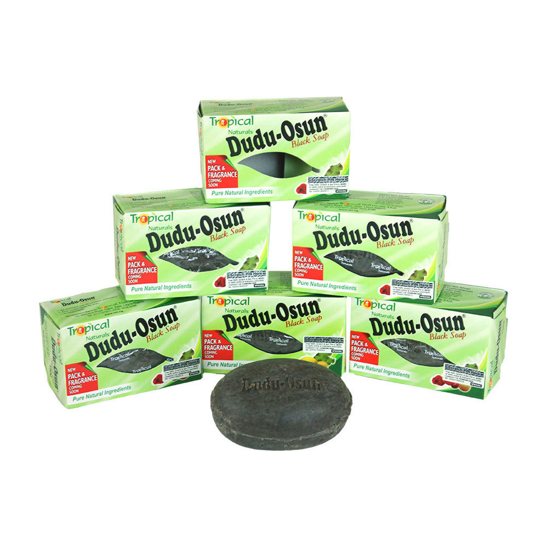 Picture of CLASSIC Dudu-Osun Black Soap - Pack Of 6