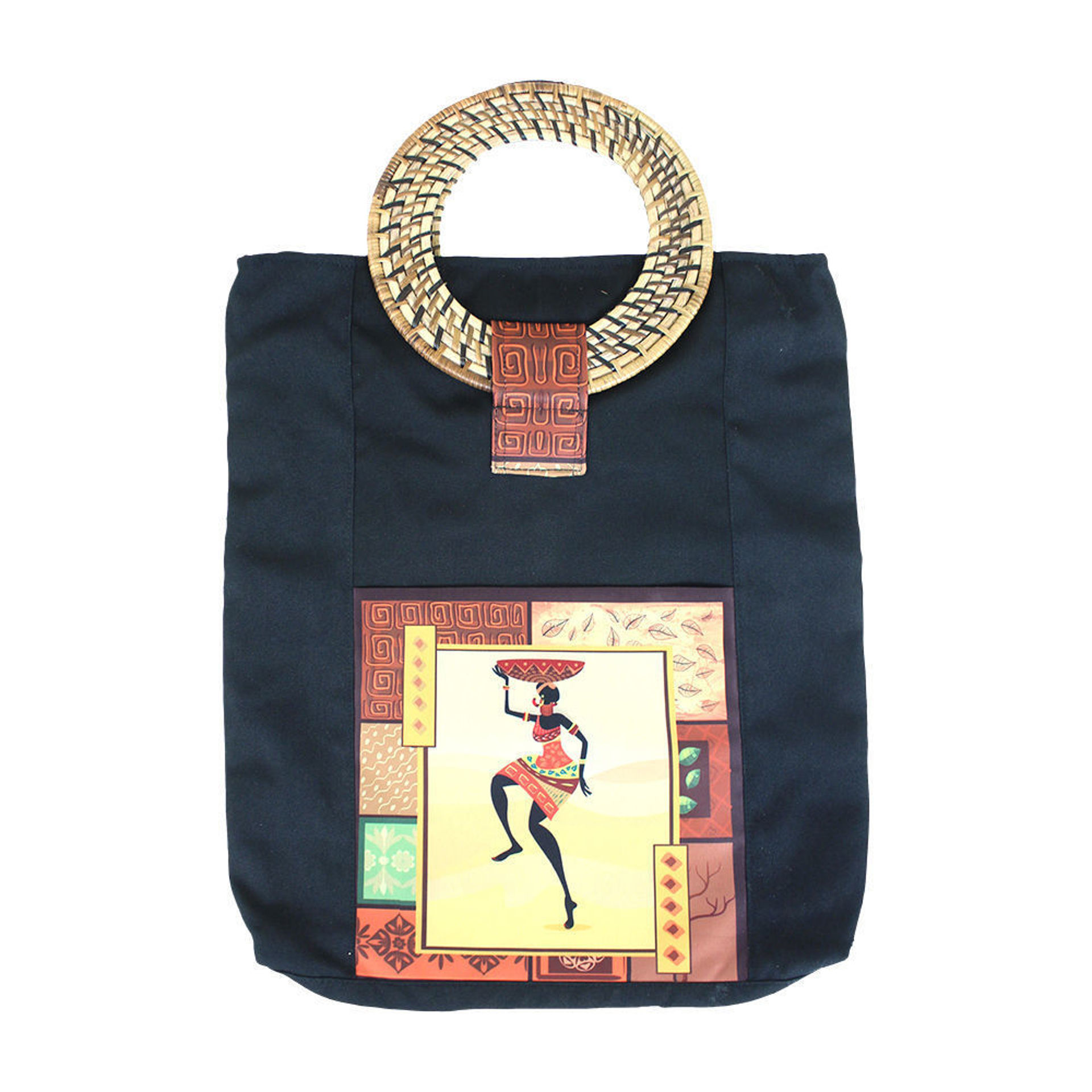 Picture of Deluxe Afrocentric Tote Bag - ASSORTED