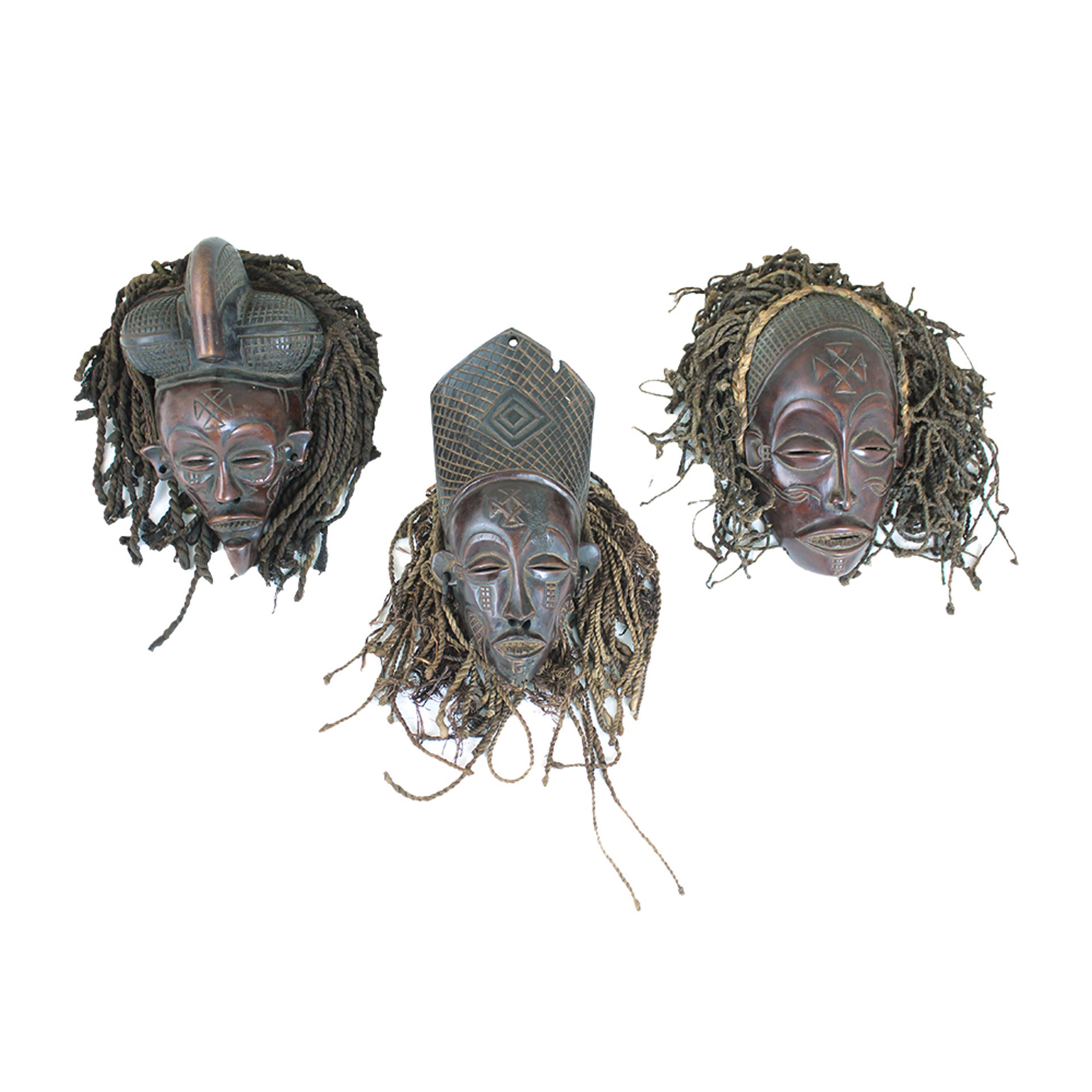 Picture of Congolese Chokwe Mask