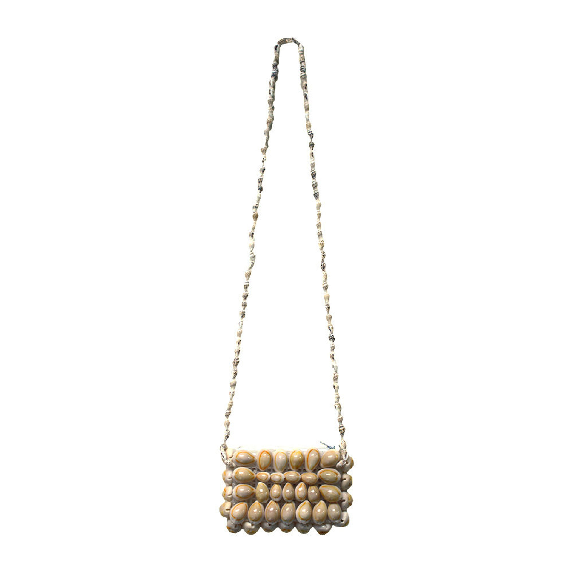 Picture of Small Rectangle Cowrie Shell Hand Bag