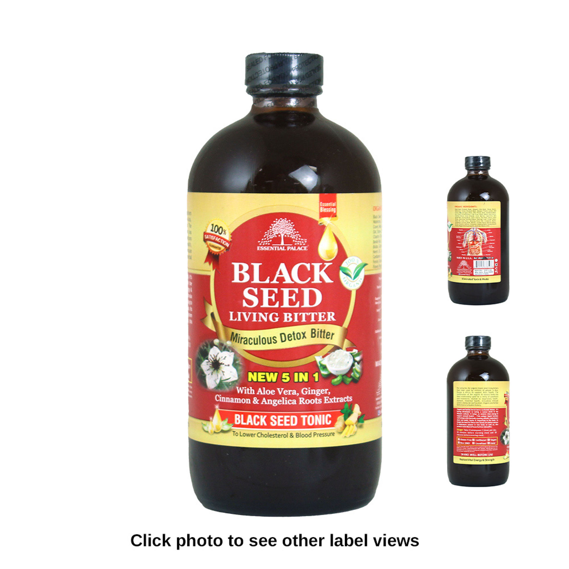 Picture of Black Seed Detox Bitter Tonic - 16 oz.