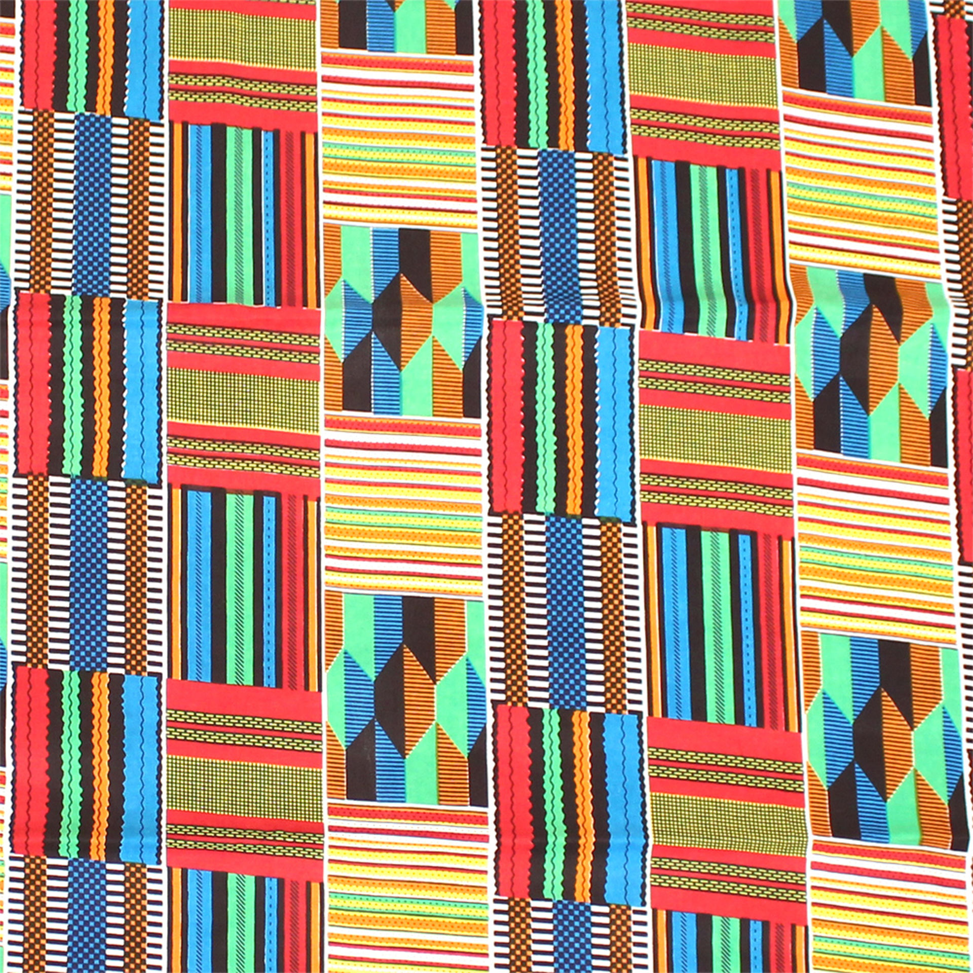 Picture of African Kente Fabric: Style-A
