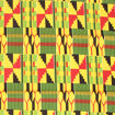 Picture of African Kente Fabric: Style-B