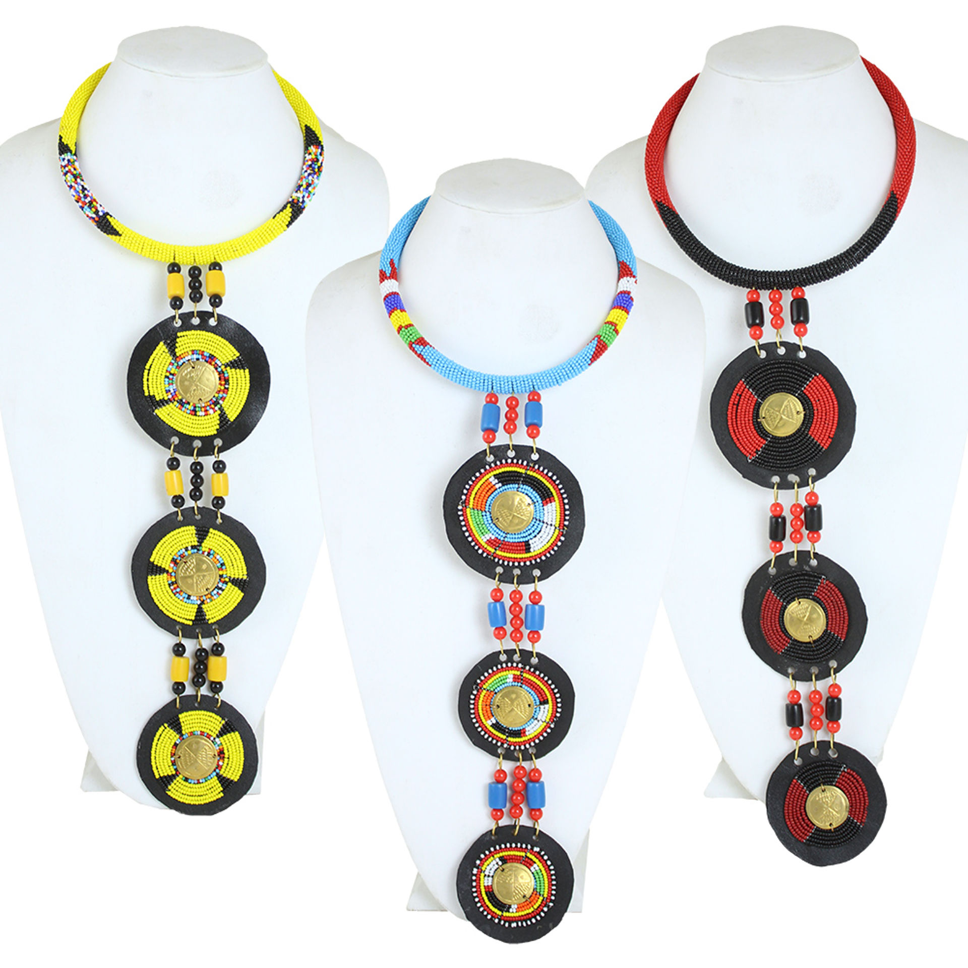 Picture of Ceremonial Maasai Pendant Necklace