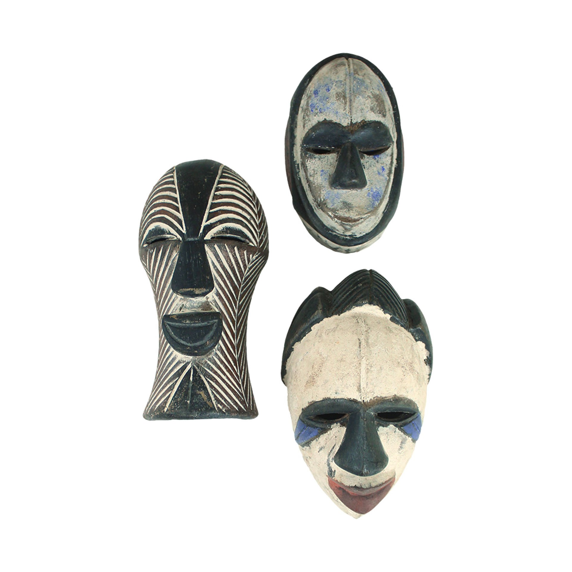 Picture of Small Congolese Passport Mask ASSORTED