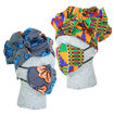 Picture of African Print Bonnet & Mask Set