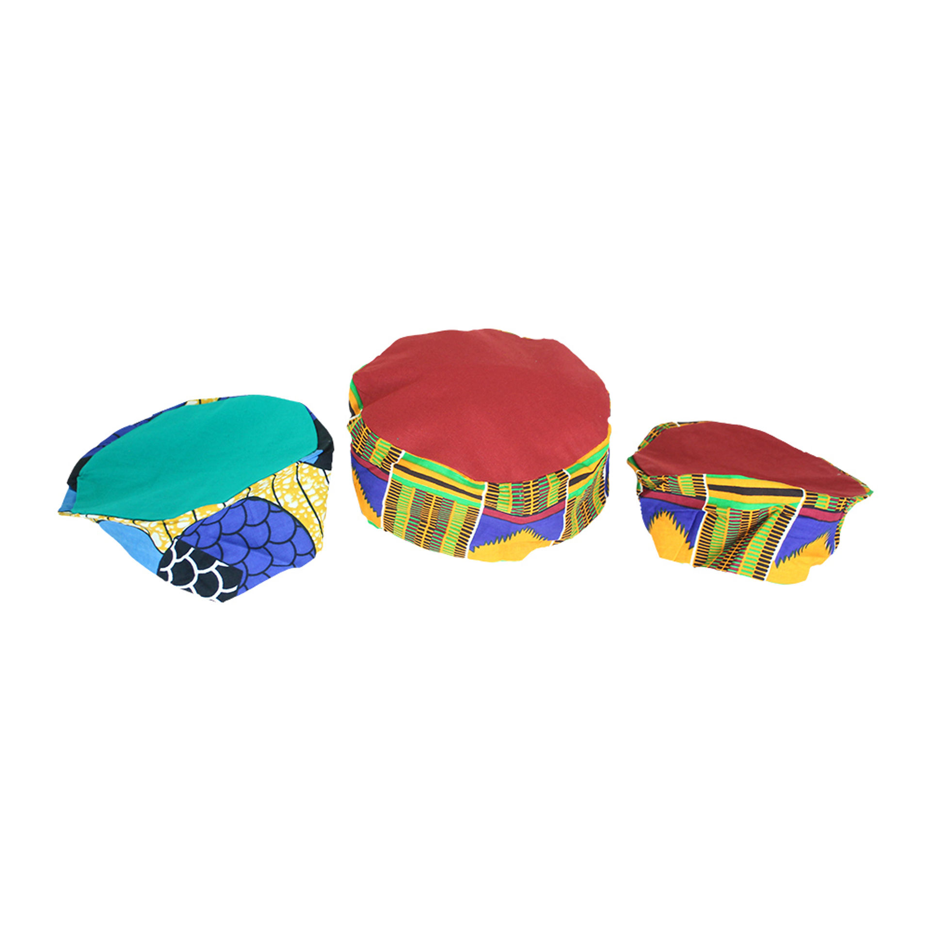 Picture of Set Of 3 ASSORTED Kufi Hats