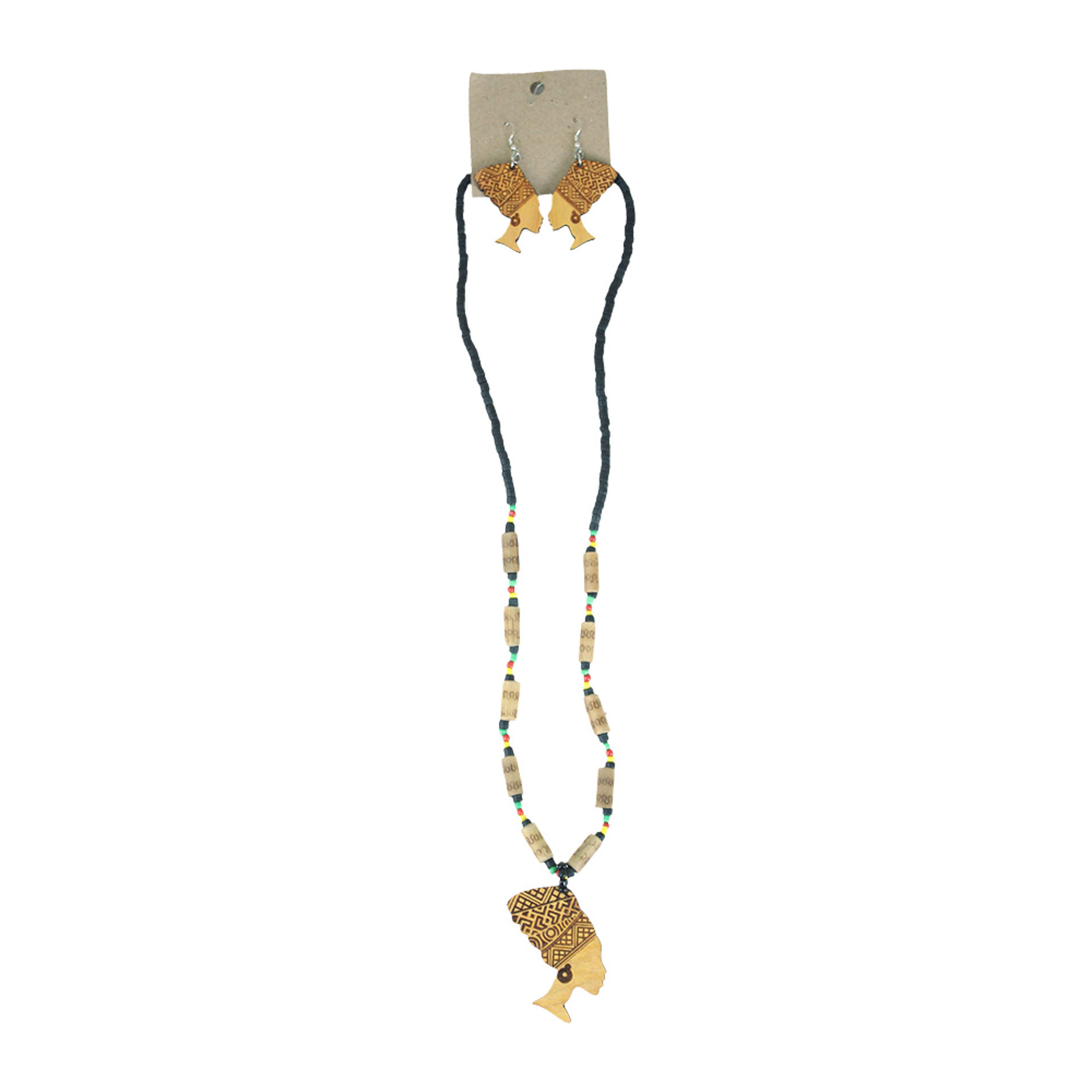 Picture of Pan African Big Mama Necklace Set