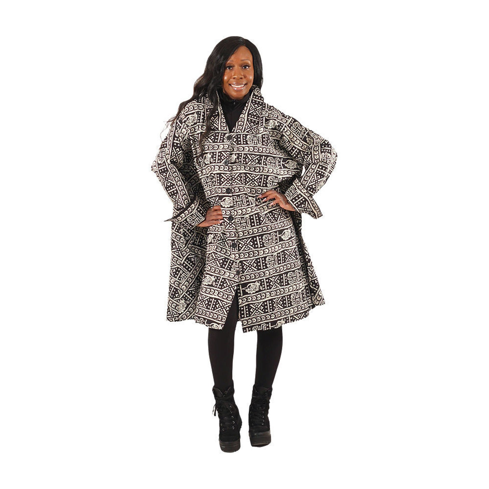 Picture of African Tribal Print Smock
