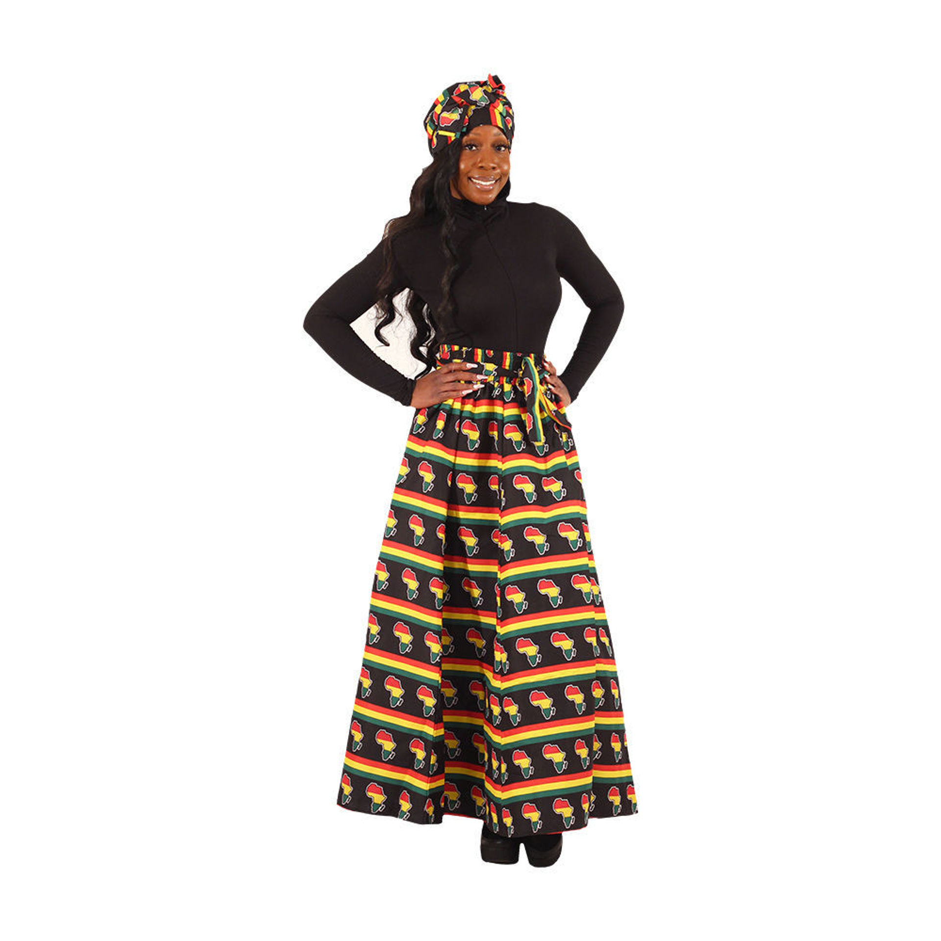 Picture of Pan African Long Skirt