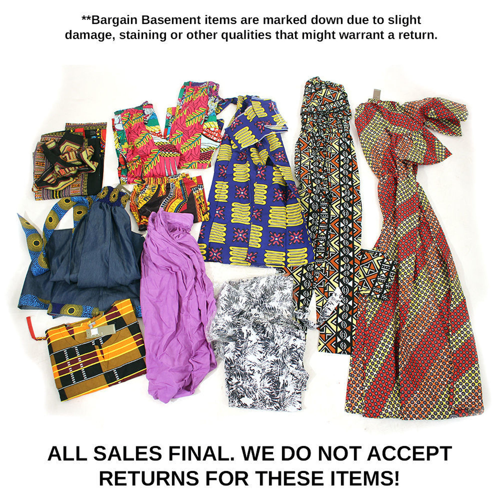 Picture of Assorted Pants and Jumpsuits- Set A