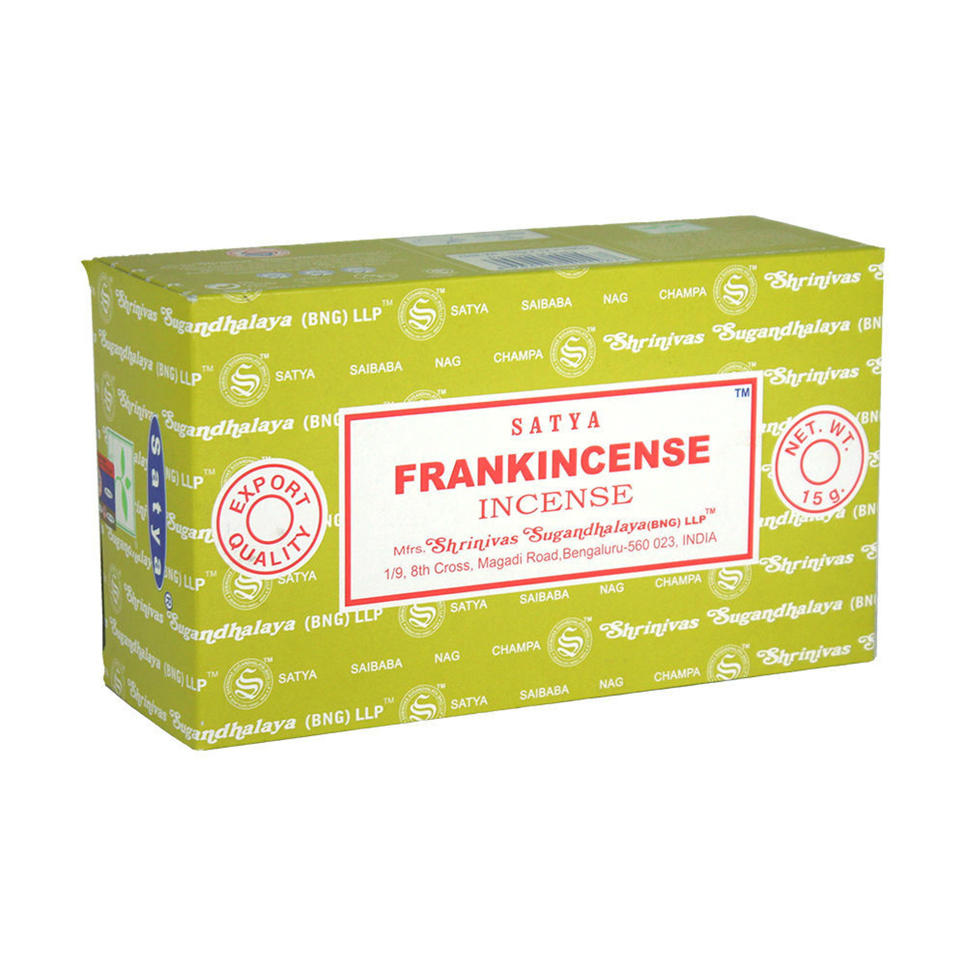 Picture of Frankincense Incense - 15 g (12-Pack)