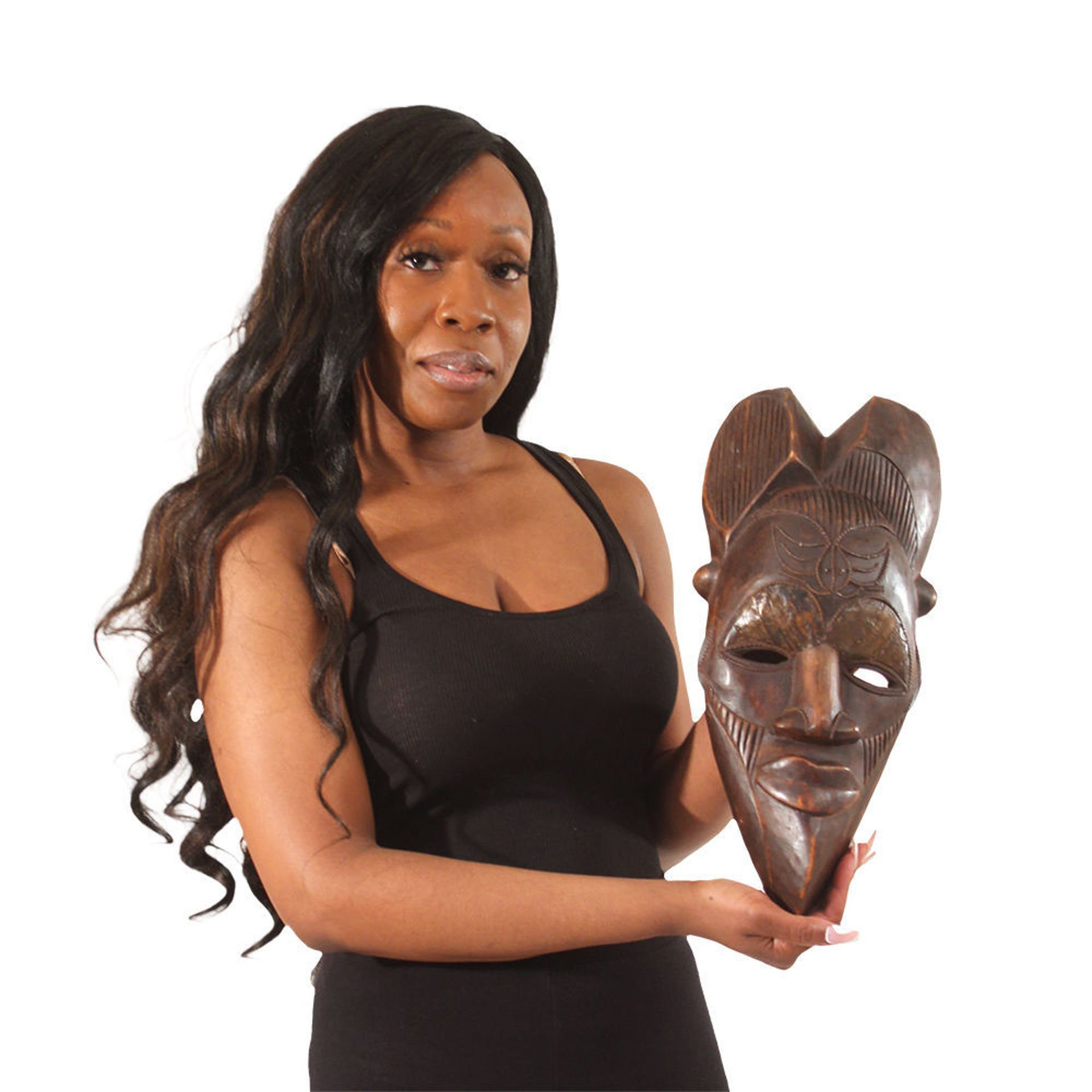 Picture of Cameroonian Tika Mask