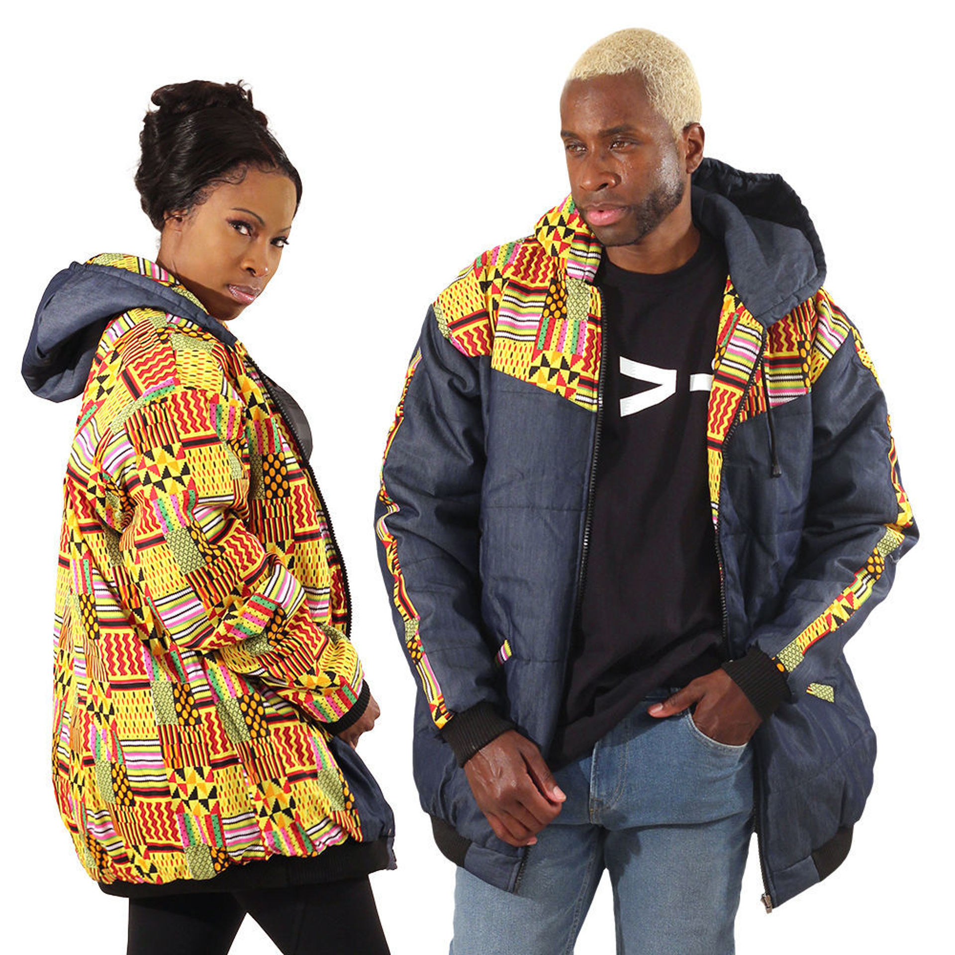 Picture of Kente Print Jacket