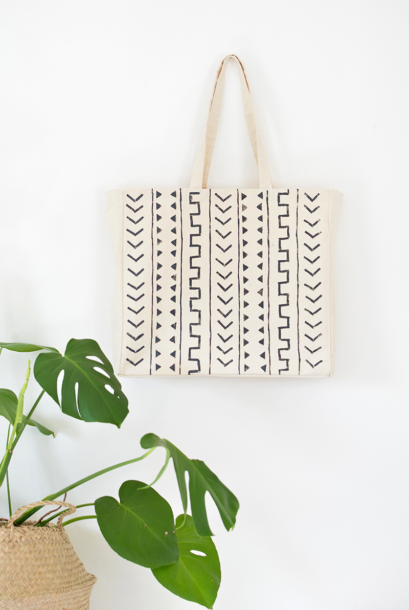 mudcloth-inspired-tote-bag